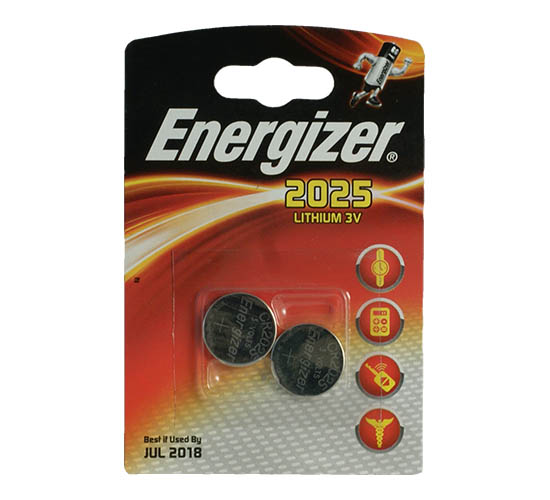 Energizer CR-2025 2/card