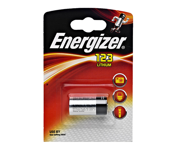 Energizer CR-123 1/card
