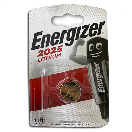 Energizer  CR-2025 1/card