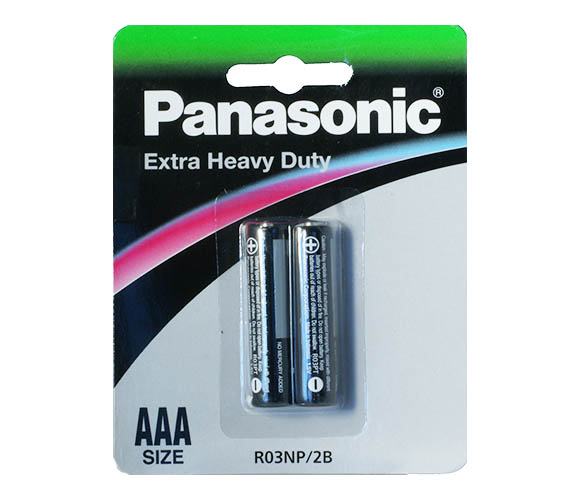 Panasonic R03 Extra Heavy Duty 2/card
