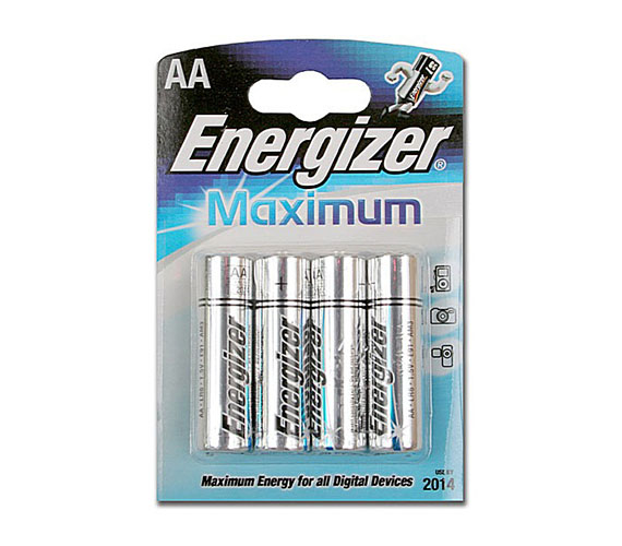 Energizer LR6 MAXIMUM 4/card